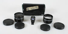 46MM TELEPHOTO/ WIDE ANGLE ADAPTERS WITH CASE