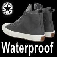 """CONVERSE CHUCK TAYLOR  """"ALL STAR"""" HIGH LEATHER BOOT BLACK WATERPROOF UNISEX"""