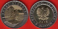"""Poland 5 zlotych 2015 """"Bydgoszcz Canal"""" BiMetallic UNC"""