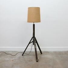 Antique Camera-Tripod Floor Lamp / AGFA ANSCO / Photograph
