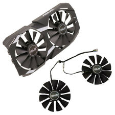 For ASUS DUAL RX580 RX470/570 GTX1080Ti / 1070Ti replacement graphics card fan