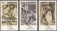 Transkei 1978 Medical/Health/Welfare/Disabled/Wheelchair/Nurse 3v set (n26207)