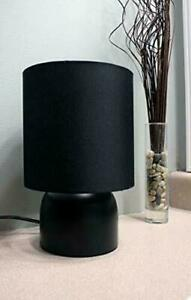 """New """"Sunbeam Table Led Lamp W/ Shade""""- (You Choose Black Or White) Save $ on 2+"""