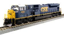 KATO 376372 HO Scale SD80MAC Locomotive CSX #4592 DCC Ready 37-6372- NEW