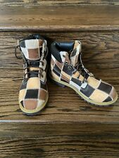 NEW! TIMBERLAND PATCHWORK Suede Leather BOOTS 19927 ~ Youth 5-1/2 / Women's 7