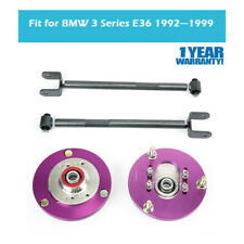 Fit BMW 3 Series E36 Adjustable Coilover Camber Plate&Rear Lower Control Arm