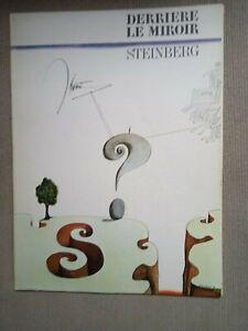 Steinberg  Derrière le Miroir 1966 n°157  Maeght Editeur