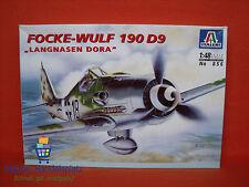"""Italeri ® 856 Focke-Wulf 190 d9 """"langnasen dora"""" 1:48"""