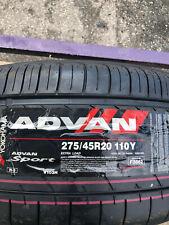 1 New 275 45 20 Yokohama Advan Sport Tire