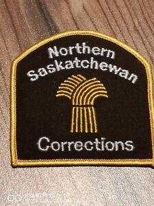 Northern Saskatchewan Corrections/Jail Canada patch!