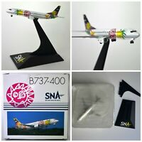 Dragon Wings SNA Skynet Asia Airways B737-400 1:400 scale plane w stand die-cast