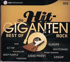 Die Hit Giganten Best of Rock 3CD (2011) - Various Artists - German import