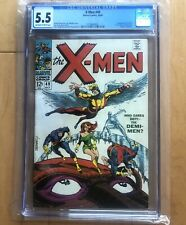 X-Men #49 CGC 5.5 1st App of Polaris (Lorna Dane) and Mesmero Marvel 1968