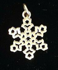 Vintage James Avery Dutch Snowflake 14K Yellow Gold Charm