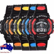 Unbranded Sport Silicone/Rubber Case Unisex Wristwatches