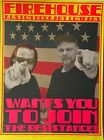 Chuck Sperry, Firehouse Wants You.  Portraits of Ron and Chuck, 2018, ed: 100
