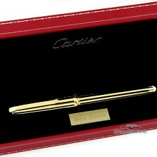Cartier Dandy Gold & Black Lacquer LE Fountain Pen - Factory Sealed!