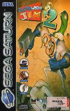 # Earthworm Jim 2 (con embalaje original) - Sega Saturn juego-Top #