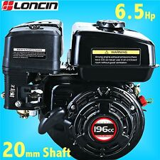 Loncin G200F-M 6.5Hp Stationary Engine for Go Kart replaces Honda GX200