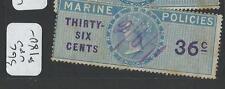 MALAYA STRAITS SETTLEMENTS (P0708B) MARINE POLICY REVENUE 36C  VFU