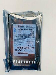 "IBM 90Y8872 90Y8873 90Y8874 90Y8876 600GB 10K 6G 2.5"" SAS G2HS HARD DRIVE"