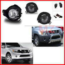 FOR 05-14 Nissan Frontier Bumper FogLight Driving Lamp Assembly Kit OE Harness