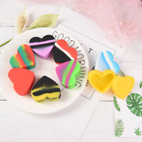 17ml silicone container jars for concentrate oil wax holder random 1pc FBDU