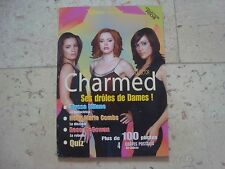 CHARMED Holly Marie Combs Alyssa Milano TELE SERIES magazine book + 4 Postcards