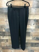 Oobe Women's Black Flat Front 100% Polyester Trouser Pants Size 6/29