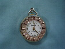 Superb MONTRELUXE Ladies Fancy Pocket Watch - Swiss Lifetime Mainspring Battery
