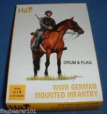 HAT 8120 - WW2 GERMAN MOUNTED INFANTRY - 1/72 SCALE PLASTIC