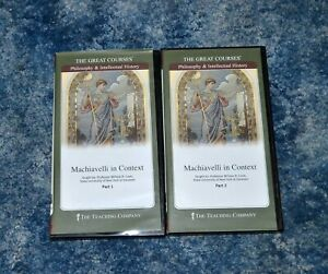The Great Courses Teaching Company DVD Machiavelli in Context