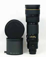 US Nikon NIKKOR 200-400mm f/4 II SWM AF-S VR IF N ED Lens Two Years Old Mint