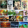 Animal&Scenery DIY 5D Diamond Painting Embroidery Cross Craft Stitch Home Decor