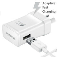 AU OEM Adaptive Quick Fast Wall Charger For Samsung S6 S7 Edge Note 4 5 + Cable