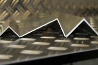 Alu Winkel Aluminiumprofil Aluprofil L Profil aus Aluminium 60x60x2 bis 1500mm