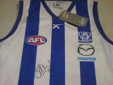 Nth Melbourne - Brent Harvey signed Kangaroos jersey + COA & Photo Proof