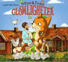 SCHWEDISCH: CD Pettersson Pettson & Findus Glömligheter Kuddelmuddel, NEU
