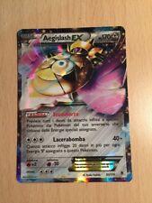 Pokemon carte rare Holo Aegislash EX set XY Forze Spettrali 65/119 ITA