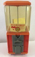 Vintage Gumball Machine Orange Retro Gumball Machine Vending Machine