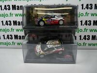 lot Ixo eaglemoss 2 Sébastien LOEB 1/43 CITROËN DS3 WRC 2011/2013 Carlo Mexique