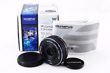 [Near Mint] Olympus M.Zuiko 17mm f/2.8 Black Lens w/BOX For Micro Four Thirds