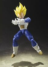 BANDAI S.H.FIGUARTS DRAGON BALL Z SUPER SAIYAN VEGETA ACTION FIGURE