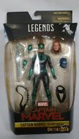 "Captain Marvel Legends Series (Starforce) 6"" Action Figure Set Hasbro NIB NEW"