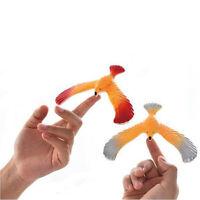 1/2/4Pcs Balancing Eagle With Pyramid Stand Magic Bird Desk Kids Toy Fun
