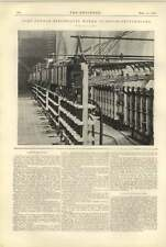 1900 Port Dundas Electricity Works Glasgow Switchboard