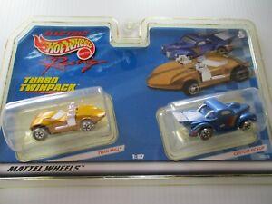 Hot Wheels Turbo TwinPack Twin Mill & Custom Pickup
