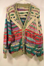 VTG COOGI Australia Cardigan Sweater Australia Men Size Large V-neck Collar