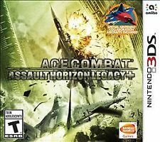 Ace Combat Assault Horizon Legacy + (Nintendo 3DS) XL 2DS Complete with manual
