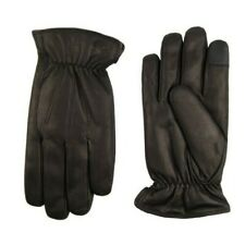 Dockers L Genuine Leather Gloves Sherpa Lining Intelitouch Large  (GLD11)